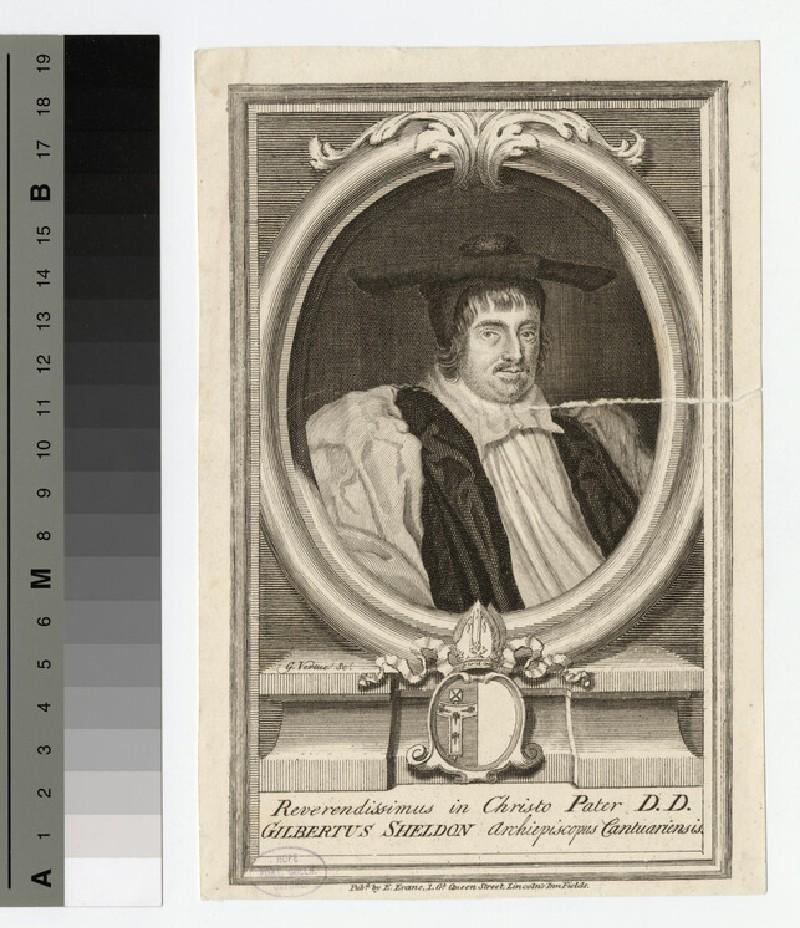 Portrait of Archbishop Sheldon (WAHP20561)
