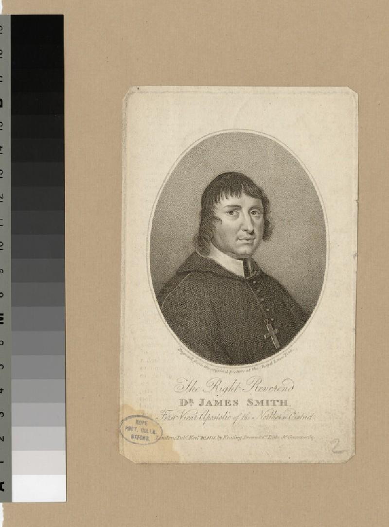 Portrait of Bishop James Smith