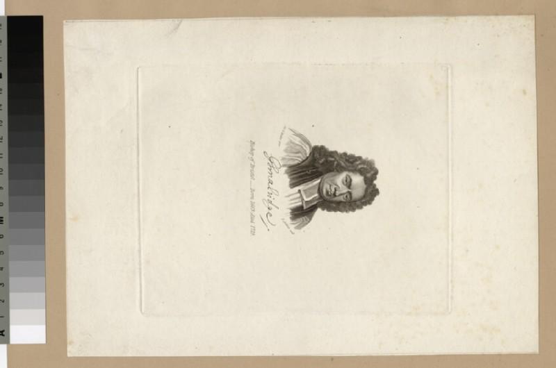Portrait of Bishop G. Smalridge