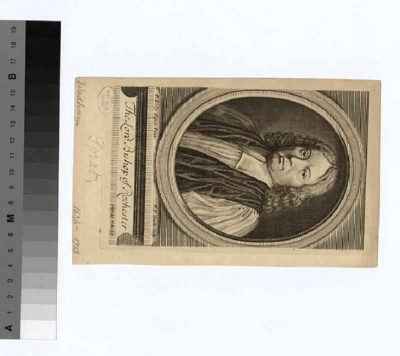 Portrait of Bishop T. Sprat
