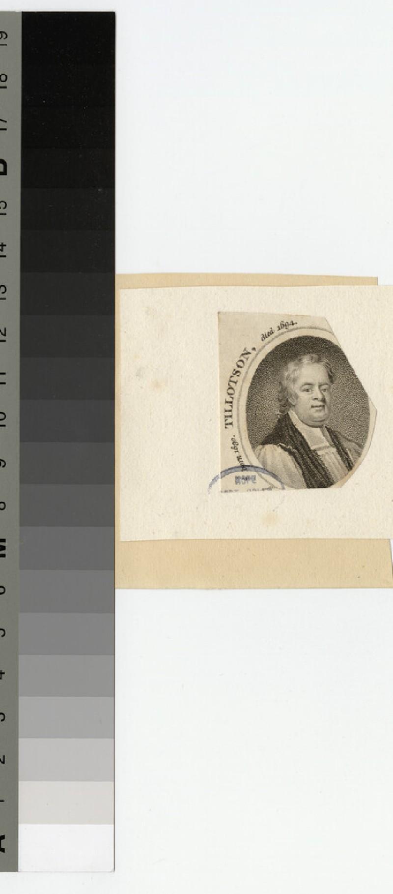 Portrait of Archbishop Tillotson (WAHP20714)