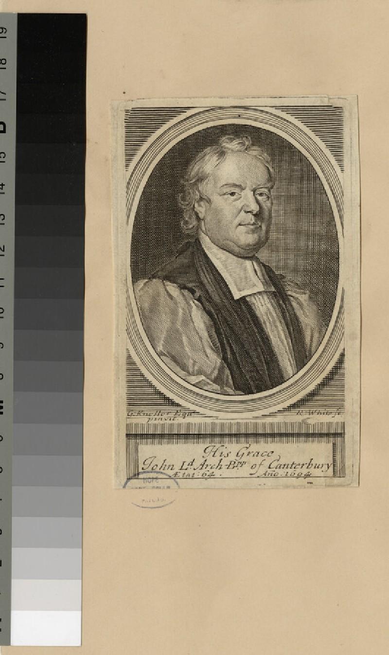 Portrait of Archbishop Tillotson (WAHP20716)
