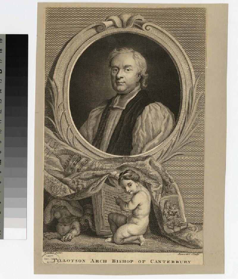 Portrait of Archbishop Tillotson (WAHP20717)