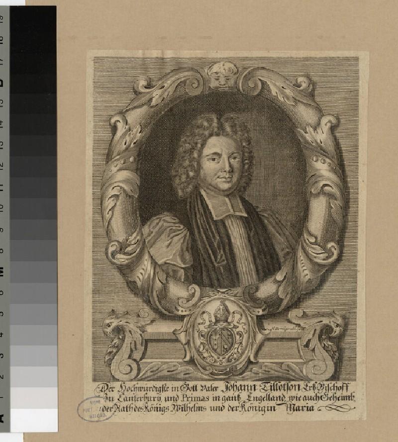 Portrait of Archbishop Tillotson