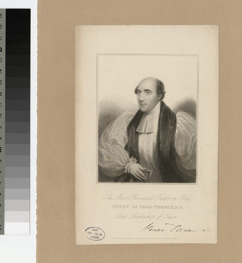 Portrait of Bishop Power le Poer-Trench
