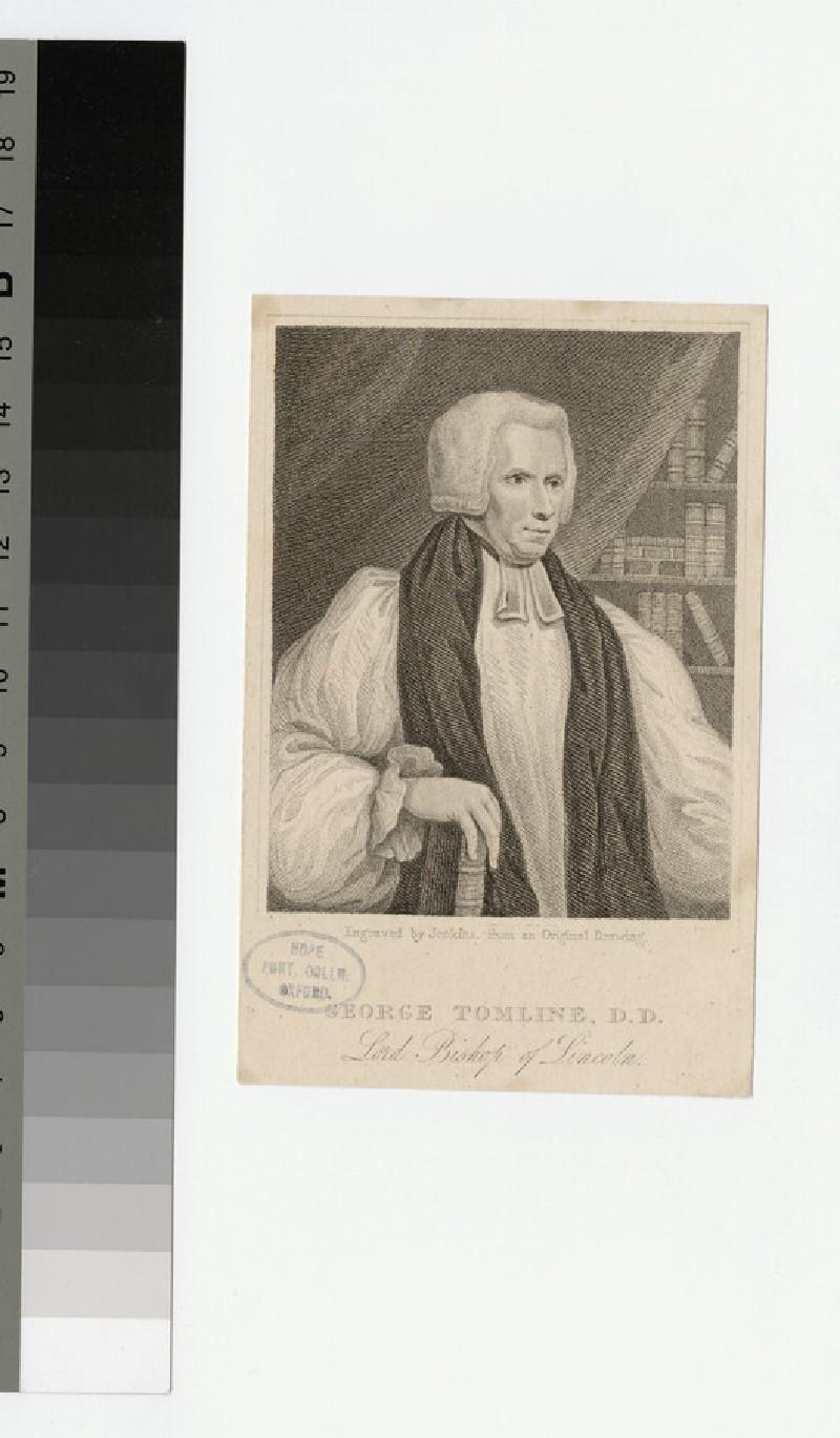 Portrait of Bishop G. Tomline