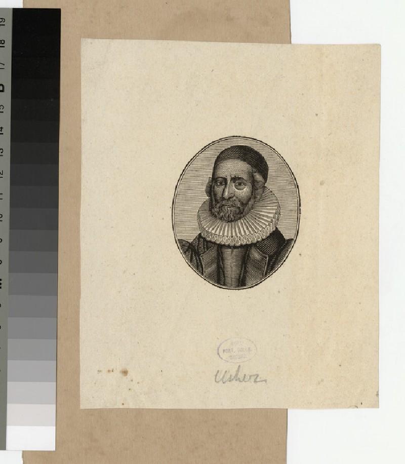 Portrait of Archbishop Ussher (WAHP20762)