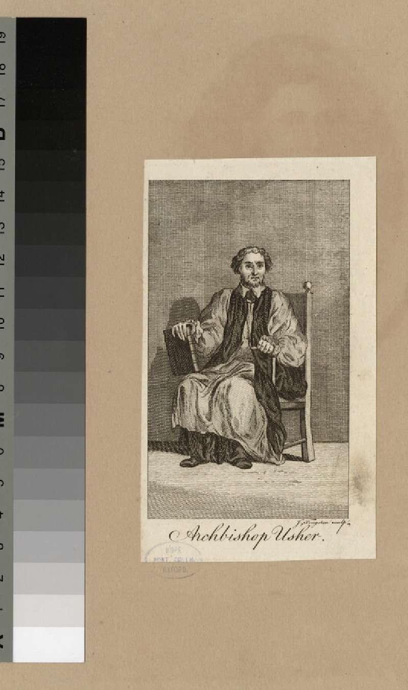 Portrait of Ussher (WAHP20775)