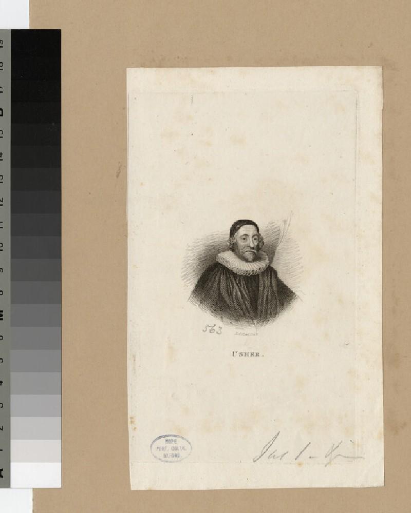 Portrait of Archbishop Ussher (WAHP20791)
