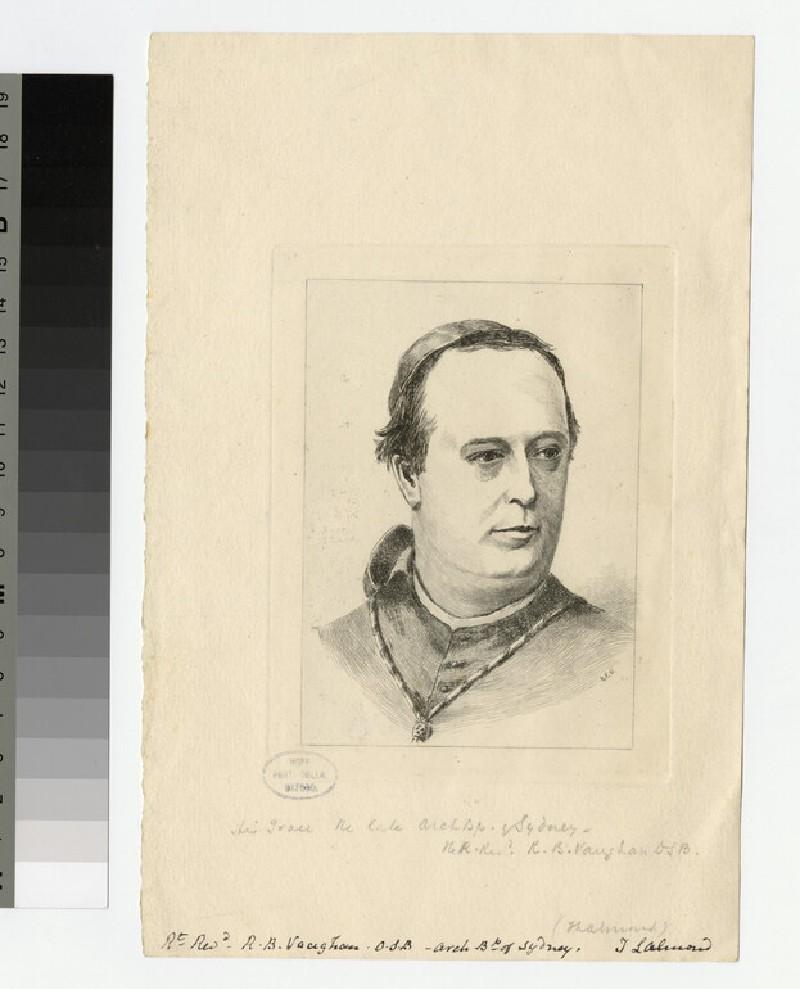 Portrait of Archbishop (R. B. ). Vaughan