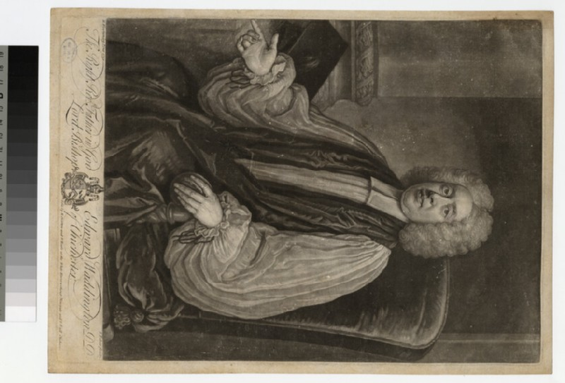 Portrait of Bishop E. Waddington