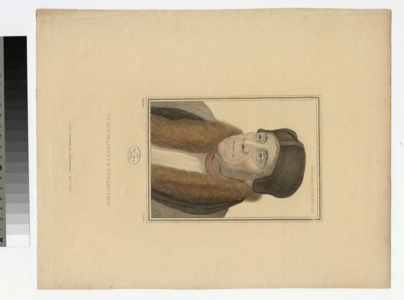 Portrait of Archbishop Warham (WAHP20828)