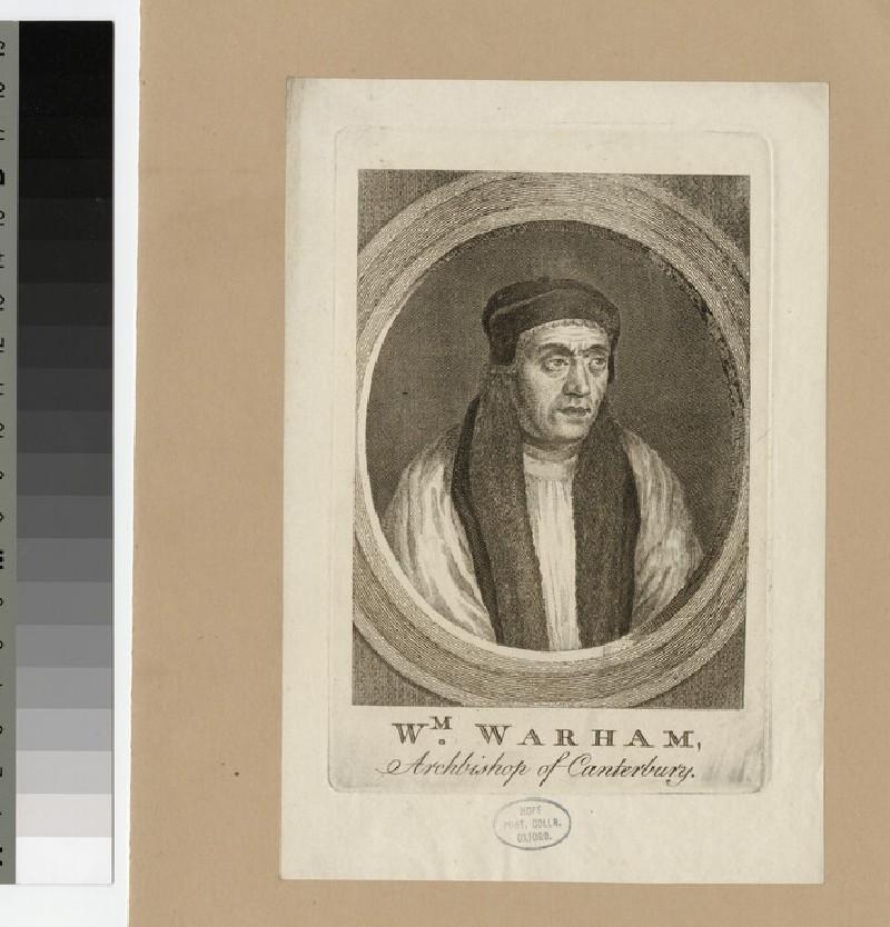 Portrait of Archbishop Warham (WAHP20829)