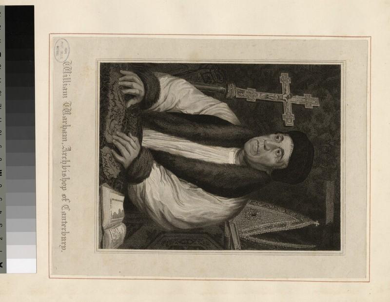 Portrait of Archbishop Warham