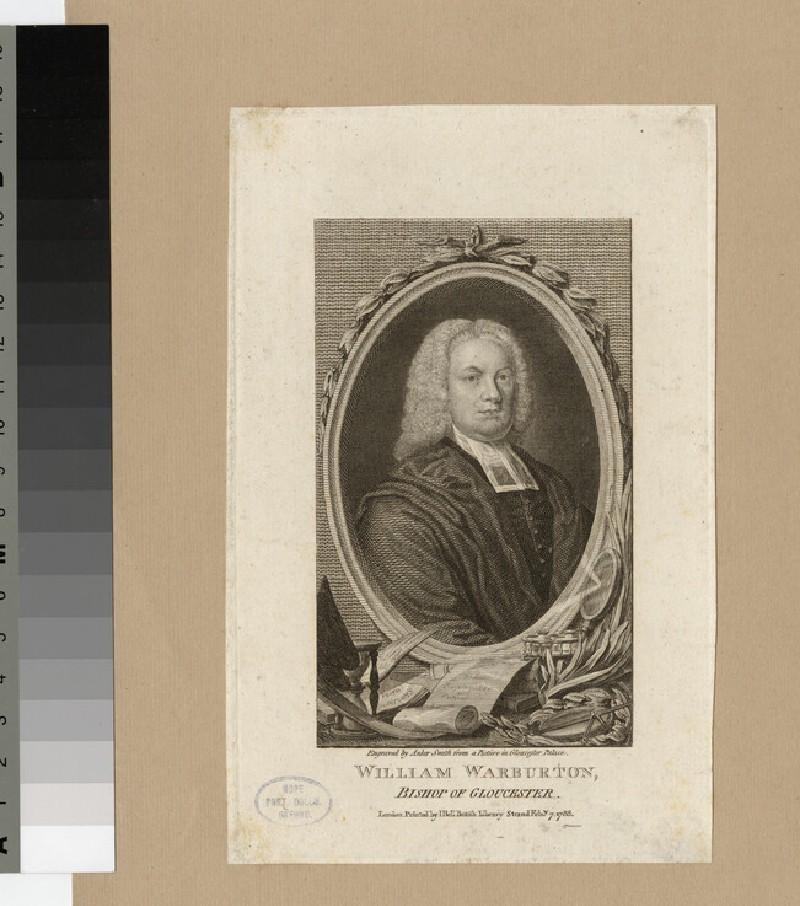 Portrait of Bishop W. Warburton (WAHP20839)