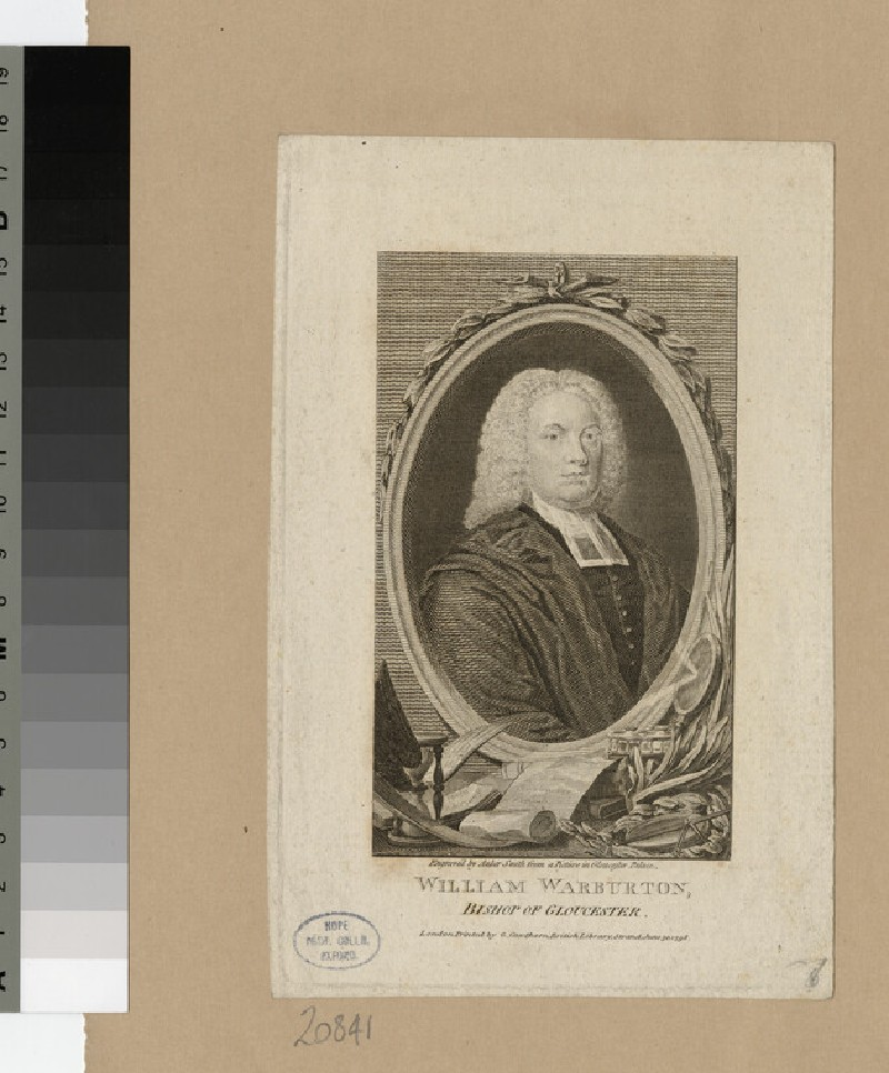 Portrait of Bishop Warburton