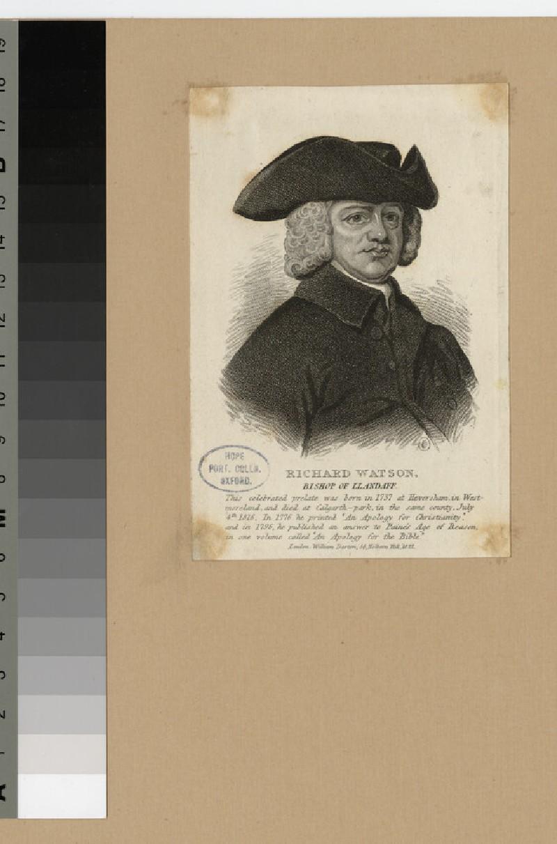 Portrait of Bishop Watson