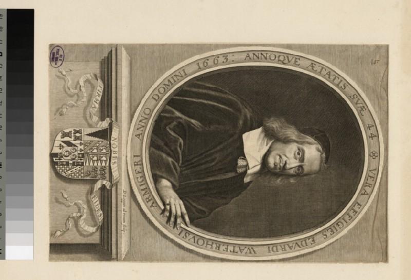 Portrait of E. Waterhouse