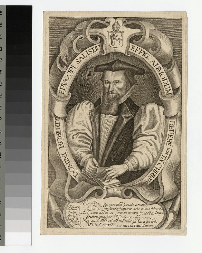 Portrait of Robert, Bishop of Salisbury (WAHP20894)