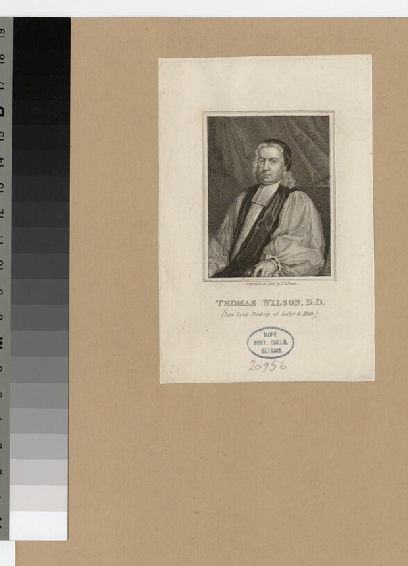 Portrait of Bishop T. Wilson (WAHP20956)