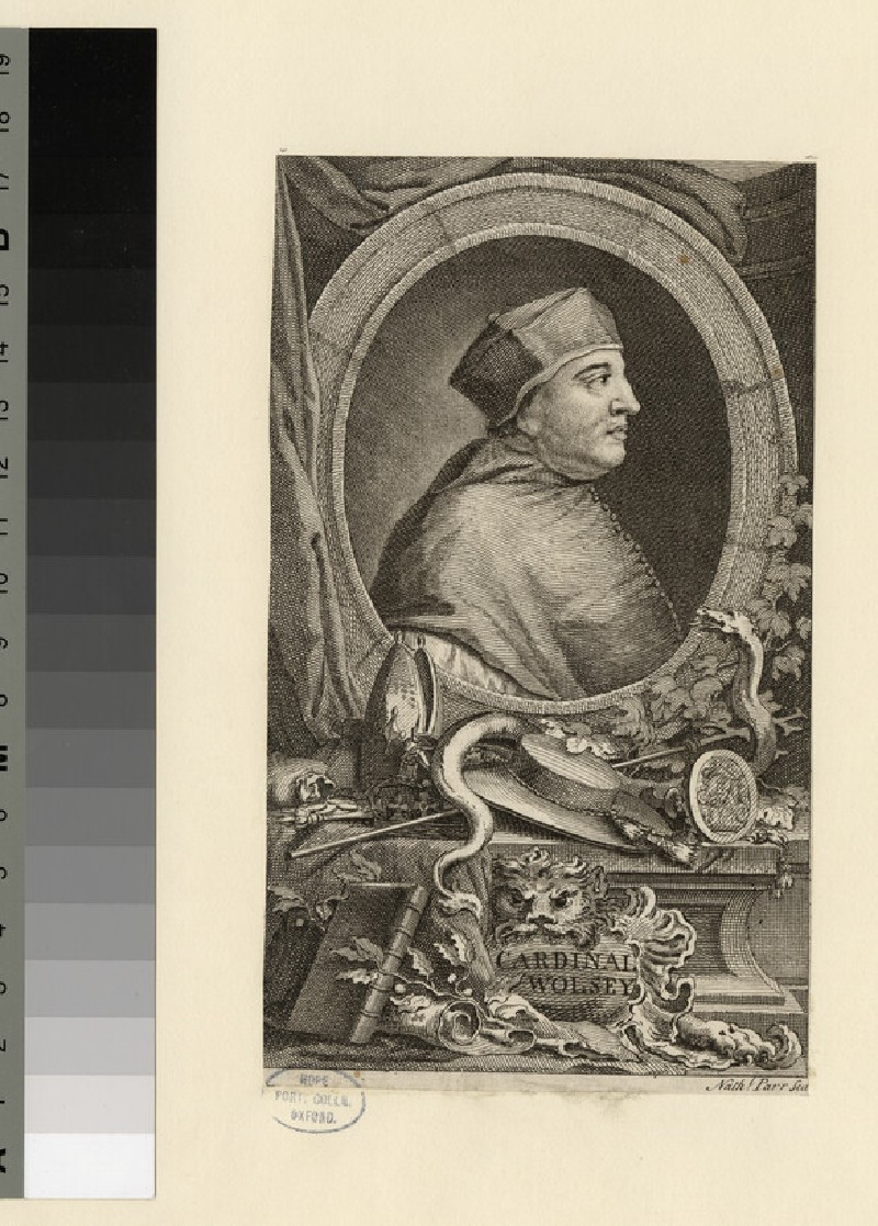 Portrait of T. Wolsey (WAHP20993)