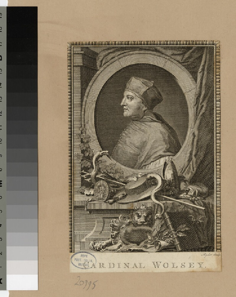 Portrait of Bishop T. Wolsey