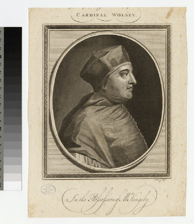 Portrait of T. Wolsey
