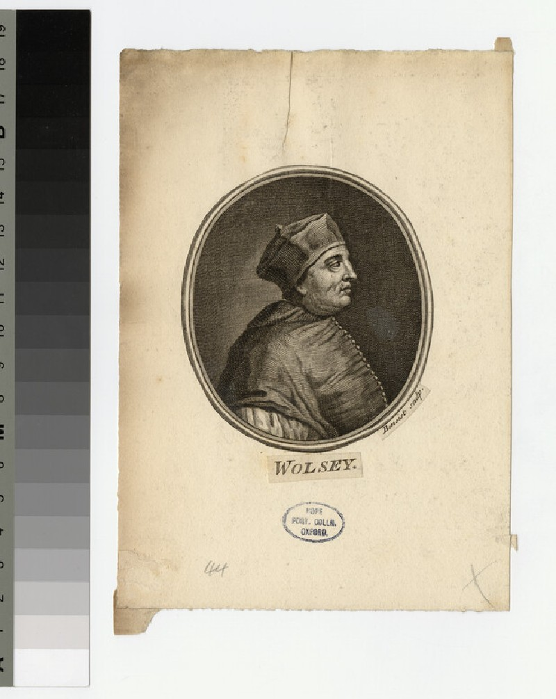 Portrait of T. Wolsey (WAHP21020)