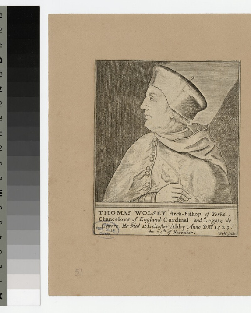 Portrait of Thomas Wolsey (WAHP21025.3)