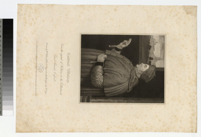 Portrait of T. Wolsey (WAHP21035)
