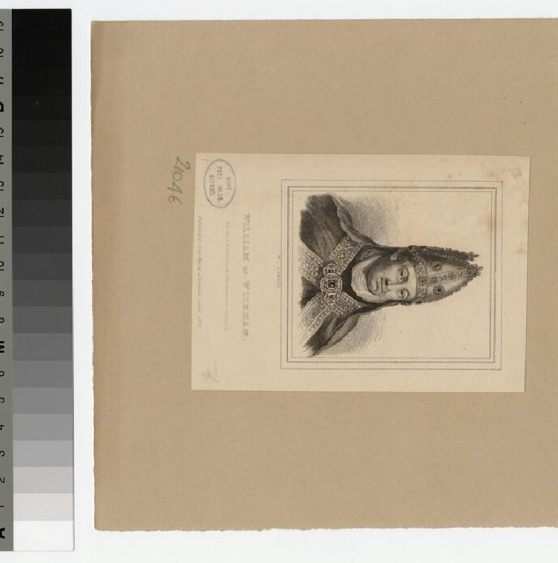 Portrait of W. of Wykeham (WAHP21046)