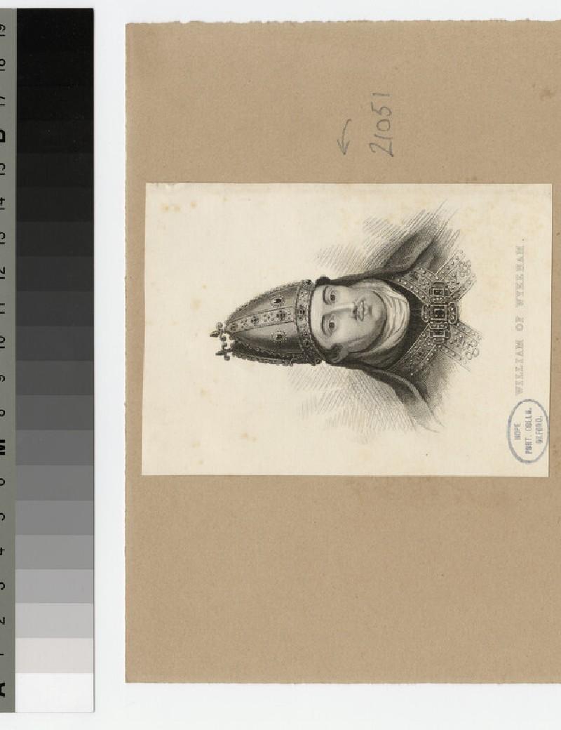 Portrait of W. of Wykeham (WAHP21051)