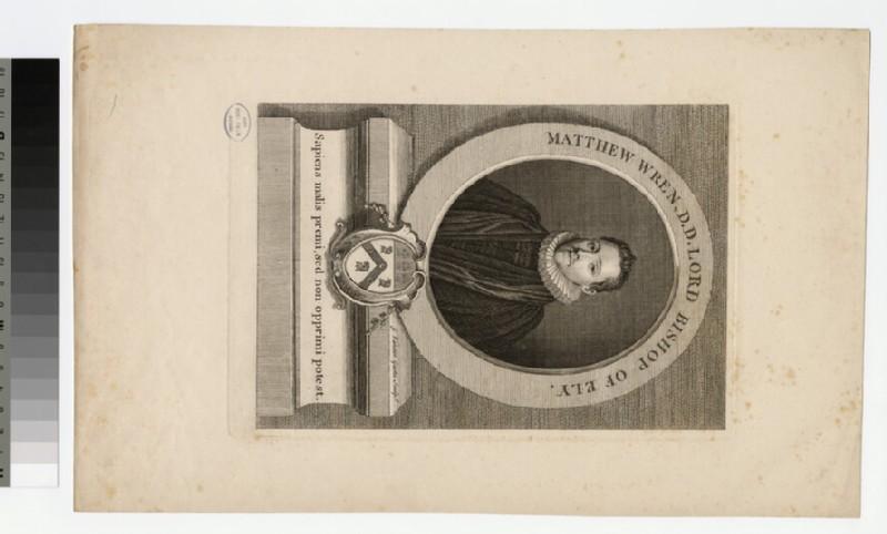 Portrait of Bishop M. Wren (WAHP21062)