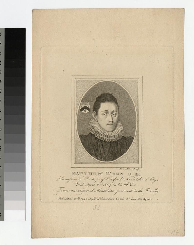 Portrait of Bishop Matthew Wren