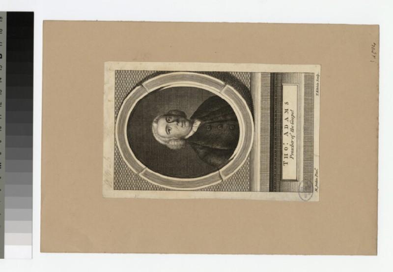Portrait of T. Adams