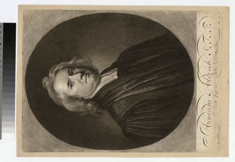 Portrait of H. Aldrich