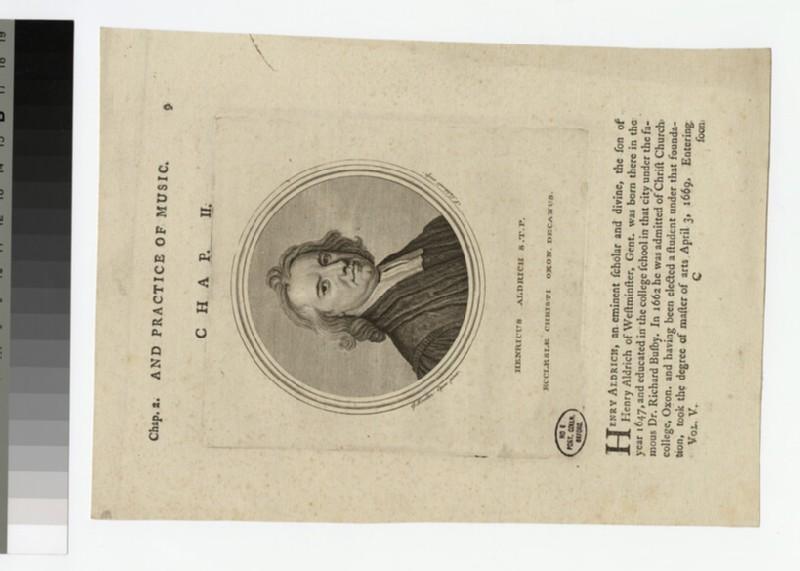Portrait of H. Aldrich (WAHP21097)
