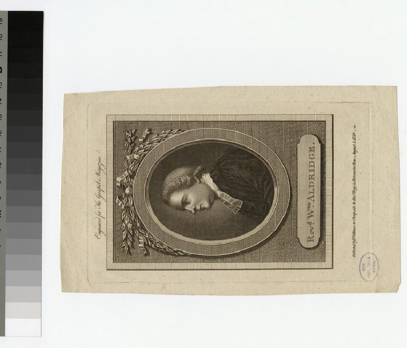 Portrait of W. Aldridge
