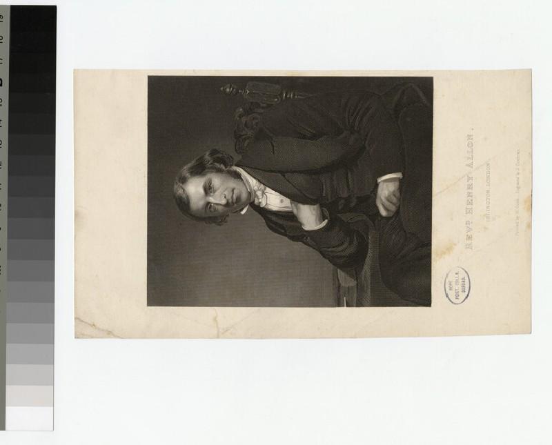 Portrait of H. Allon (WAHP21125)