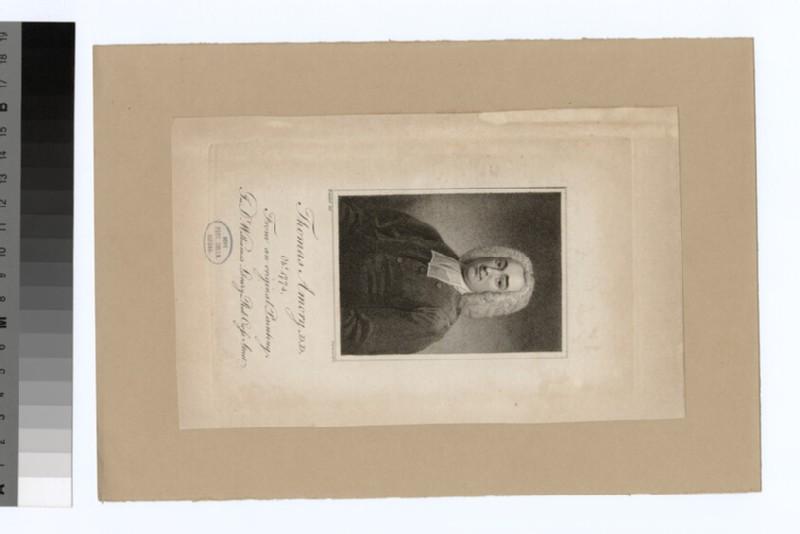Portrait of Thomas Amory