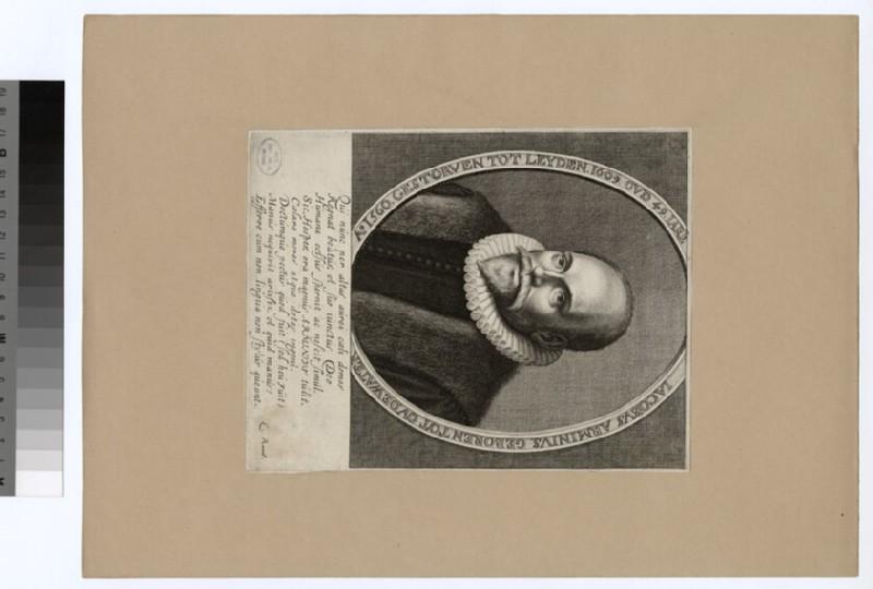 Portrait of J. Arminius