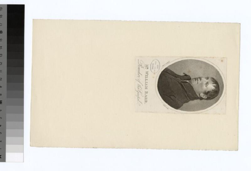 Portrait of W. Barr