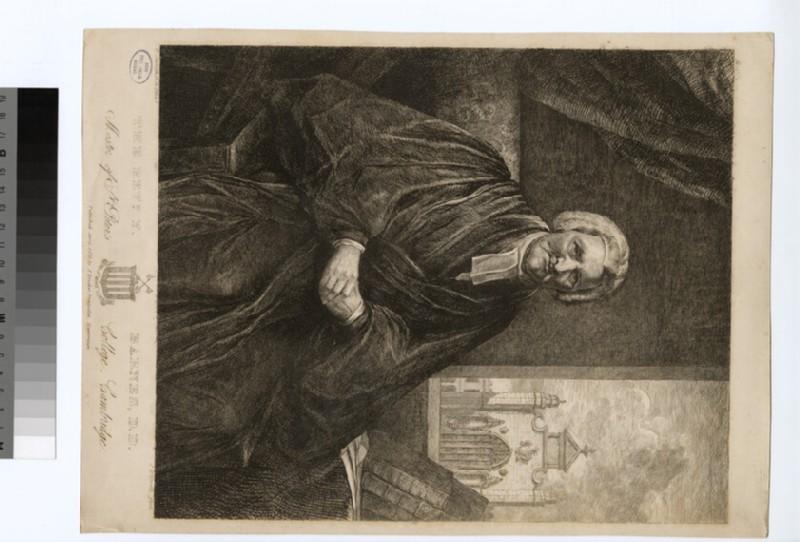 Portrait of Rev.Dr F. Barnes