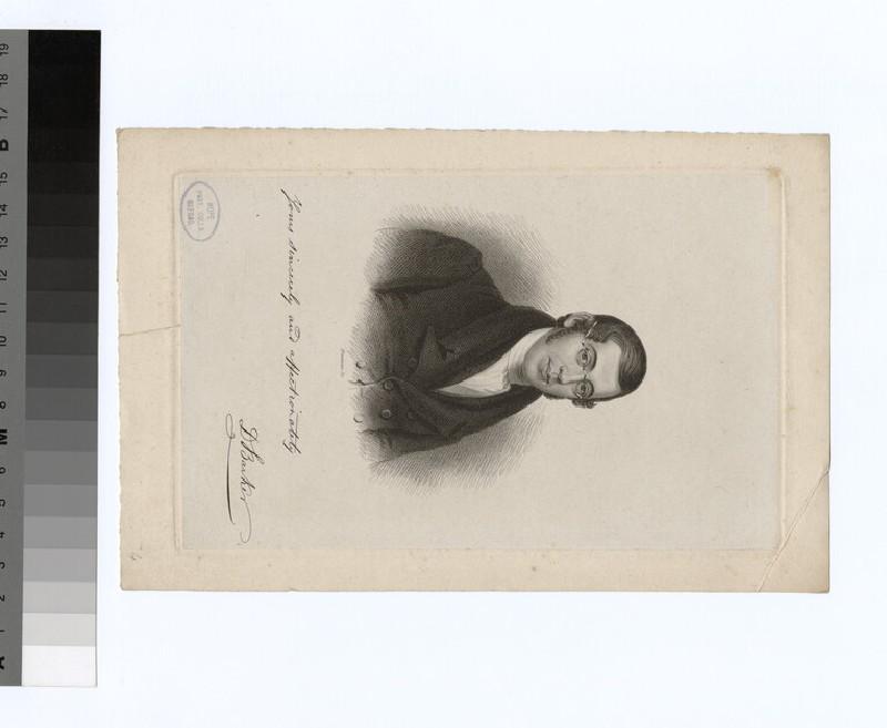 Portrait of D. Barker
