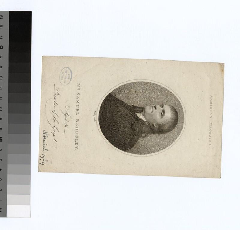 Portrait of S. Bardsley