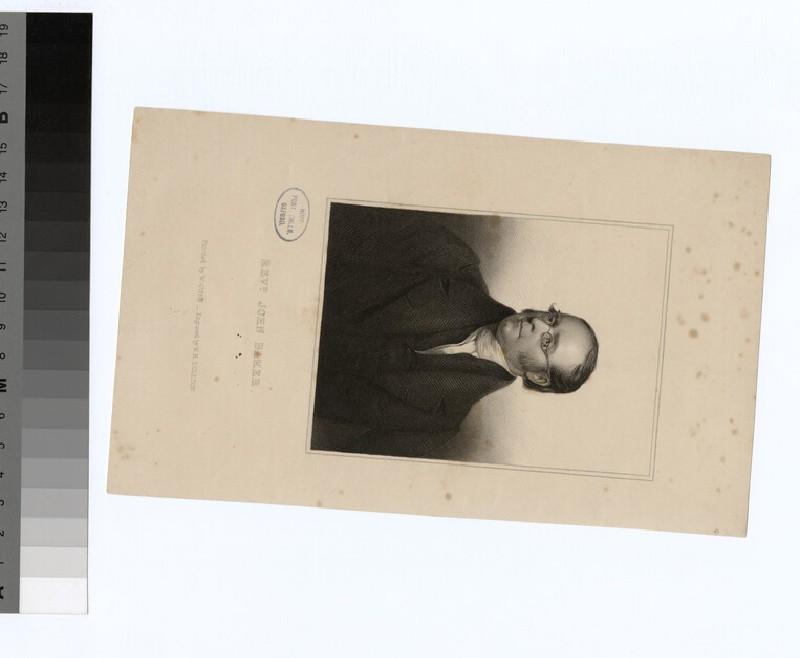 Portrait of J. Baker