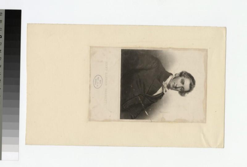 Portrait of A. Barrett