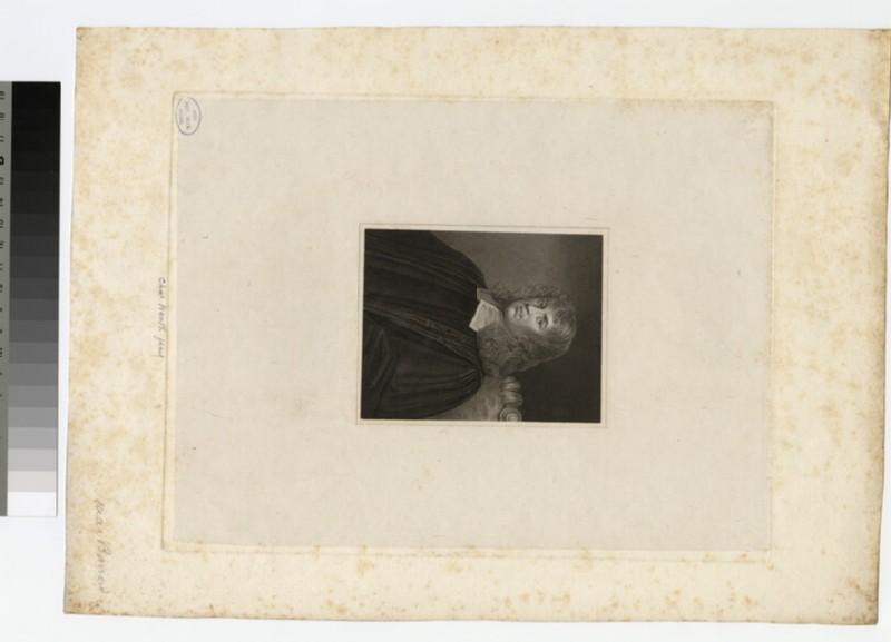 Portrait of Revd I. Barrow