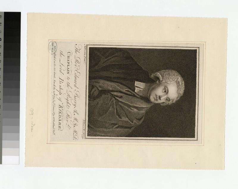 Portrait of Revd E. Barry