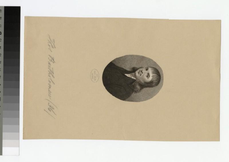 Portrait of T. Bartholomew